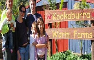 George Mingin ile Röportaj – Kookaburra Worm Farms