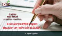 Kırsal Kalkınma (IPARD) Programı Başvuruları – 2014